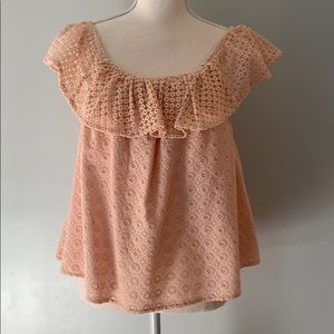 Rebecca minkoff pink top